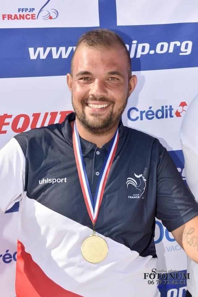 Le champion de France individuel 2019 > Michel HATCHADOURIAN