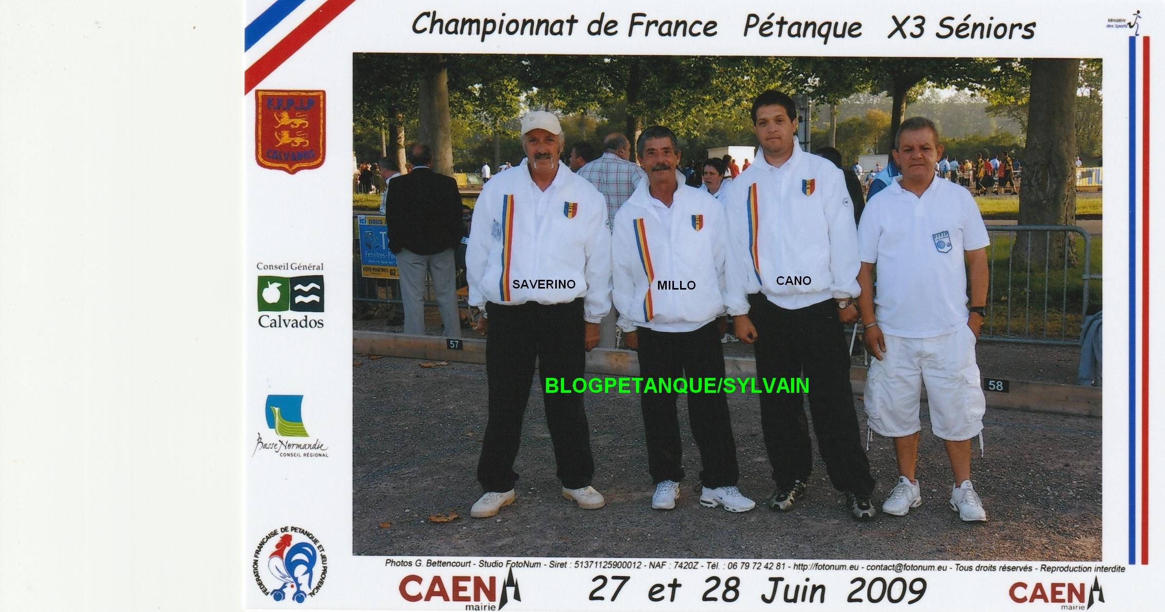 Les champions de France 2008 qualifiés d'office