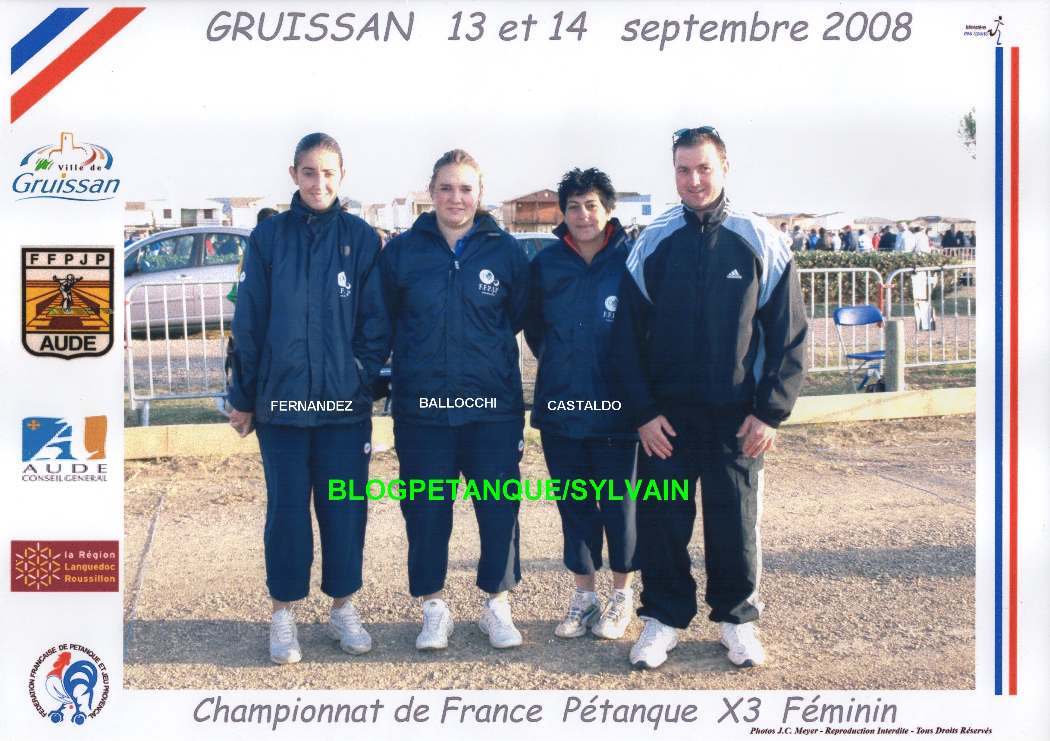 Les champions de France 2007 qualifiés d'office