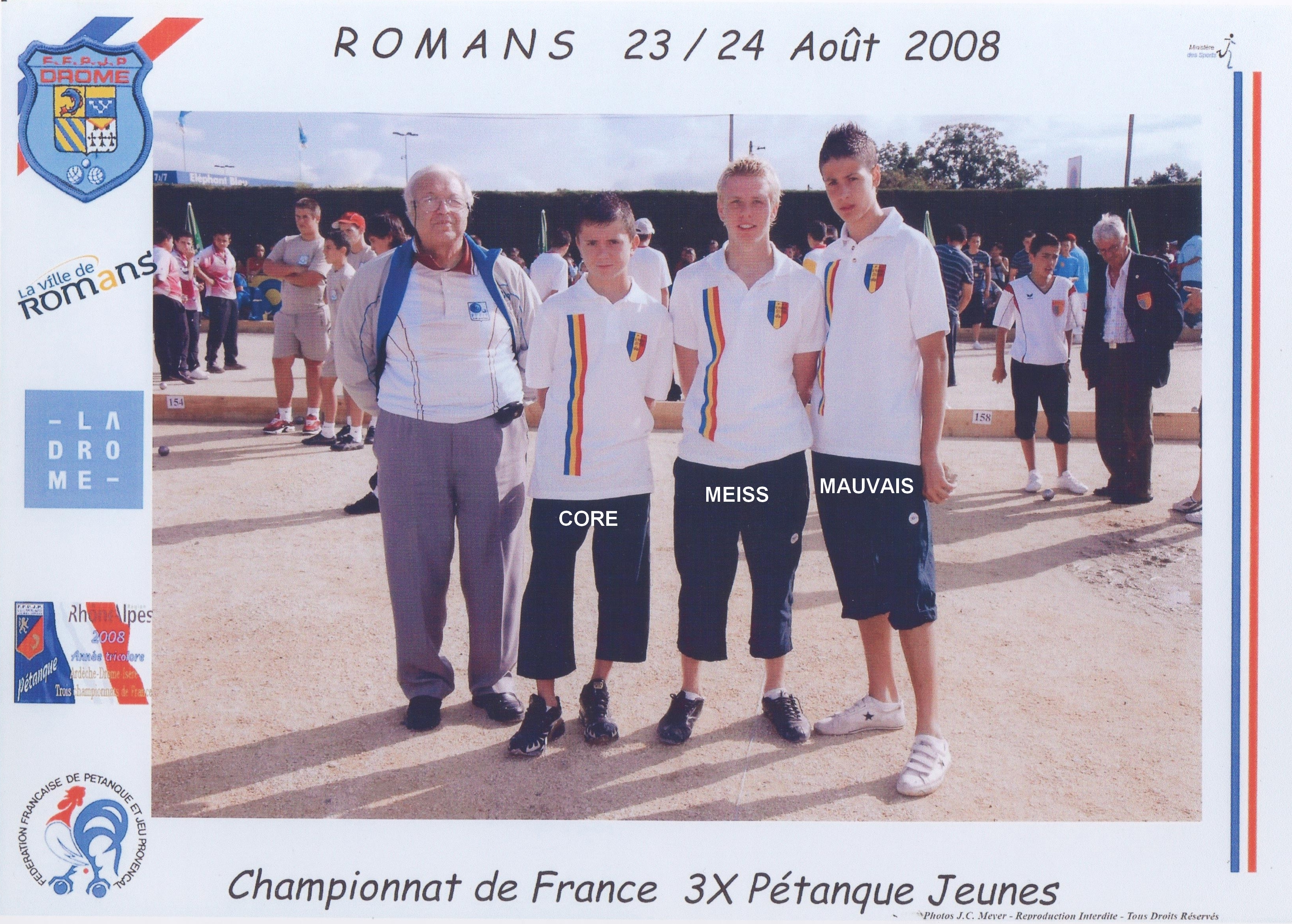 Les vices-champions juniors du 06 qualifiés par la ligue