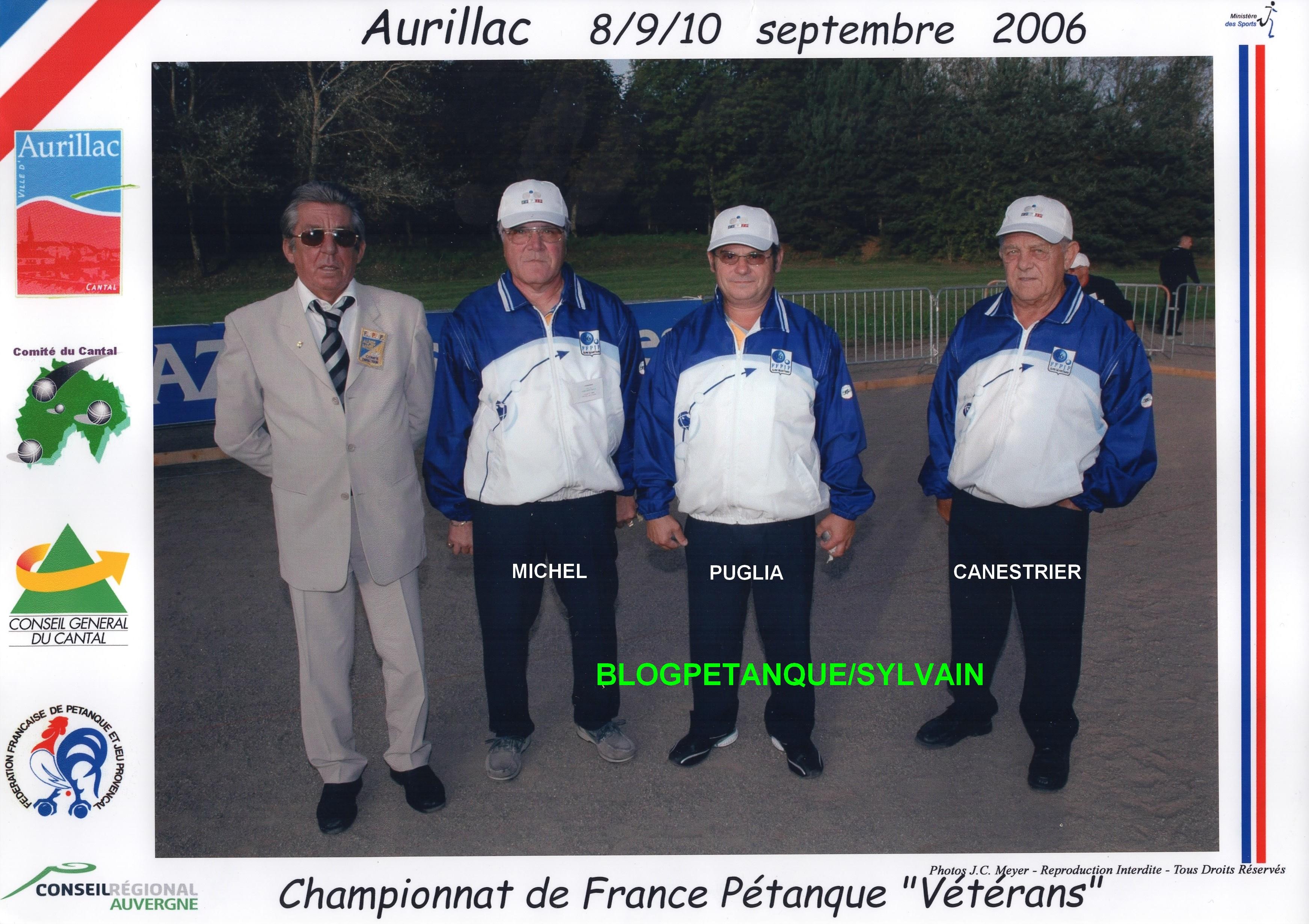 Les championnes de ligue triplettes du 06