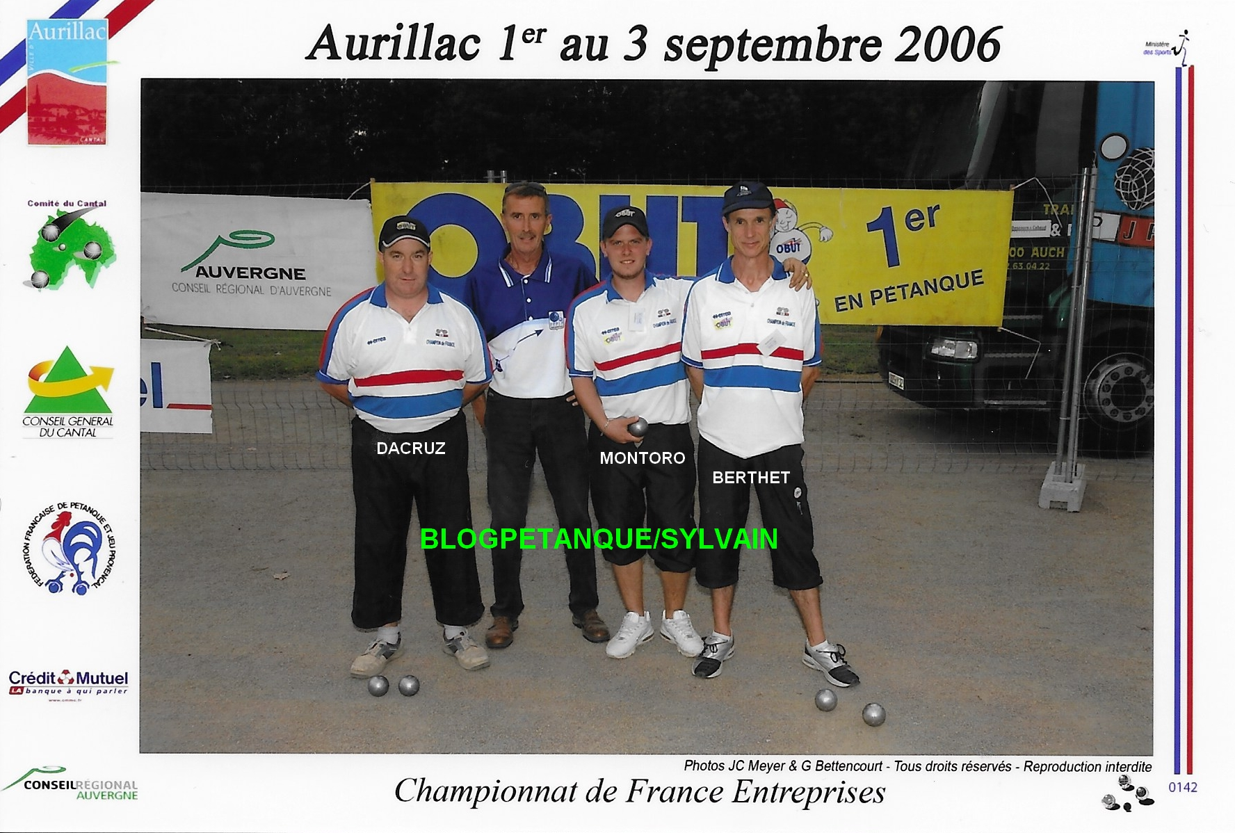 Les champions de ligue cadets du 06