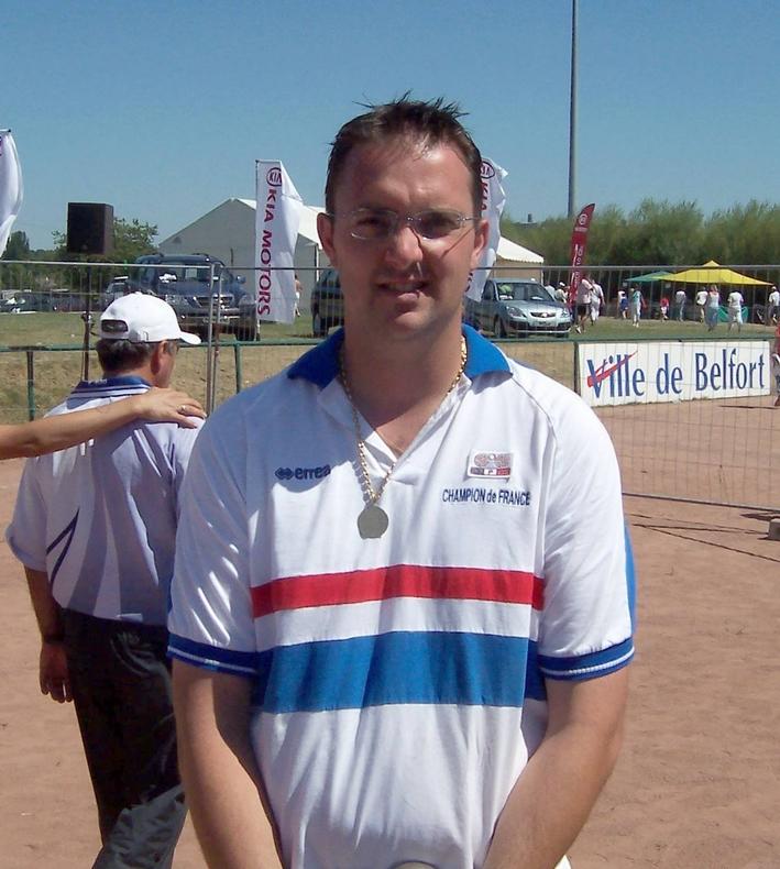 Le champion de France individuel 2005 > Daniel RIZO
