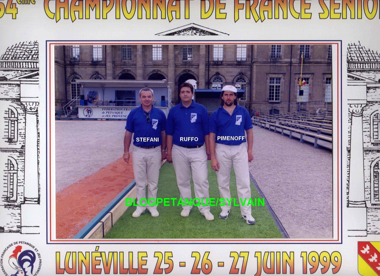 Les championnes de ligue  et championnes de France doublettes du 06