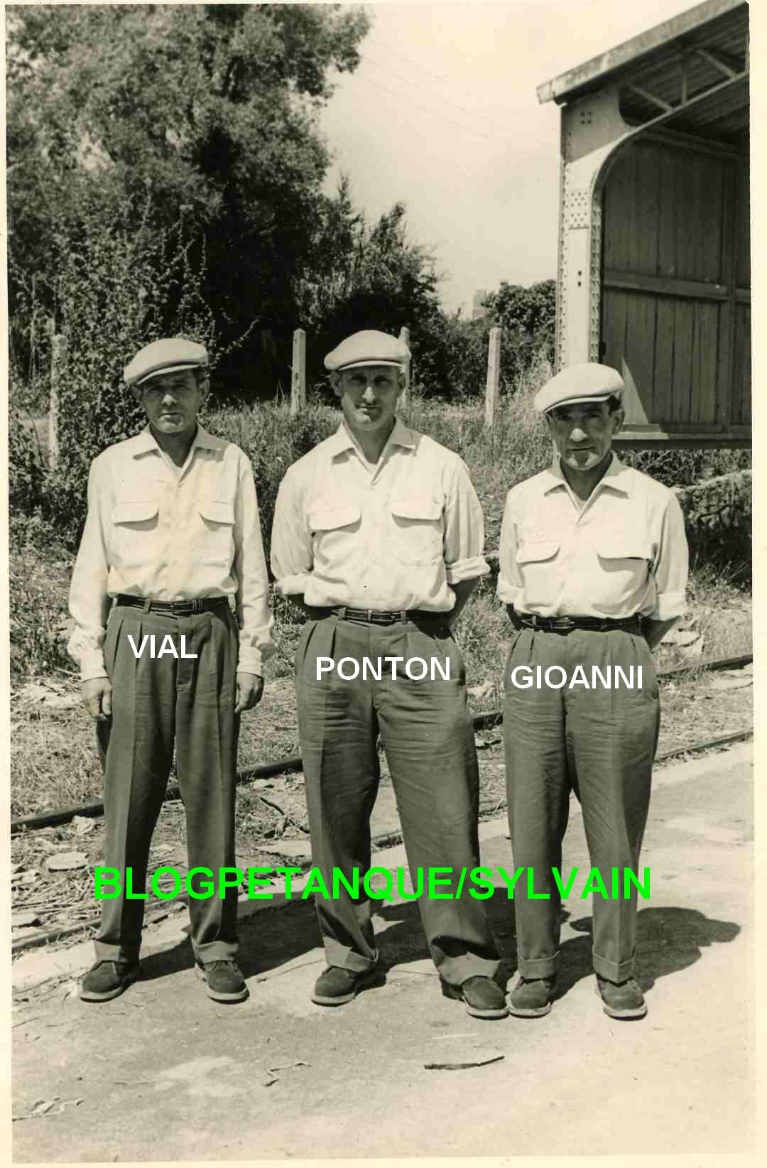 Les années 50 au Jeu Provençal
