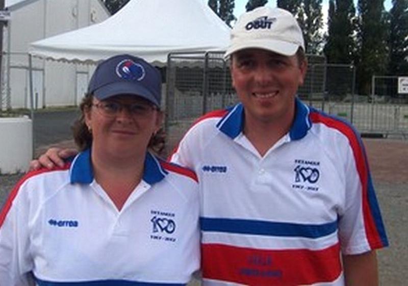 Les champions de France mixtes 2007 > Séverine ROCHE et Philippe SUCHAUD