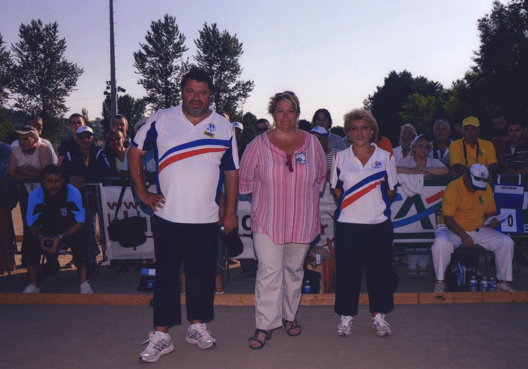 Les champions de France mixte 2008  Philippe QUINTAIS et Anne-Marie DELLA-PIETRA