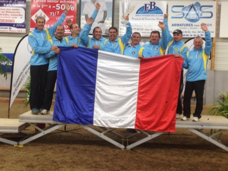 La Pétanque Antiboise championne de France des clubs national 3