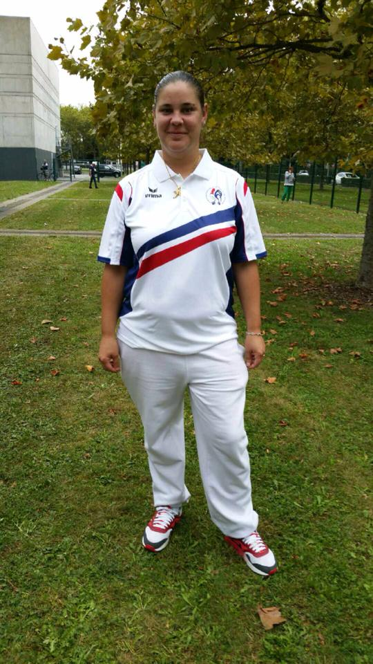 La championne de France en individuel 2015 > Ludivine LOVET