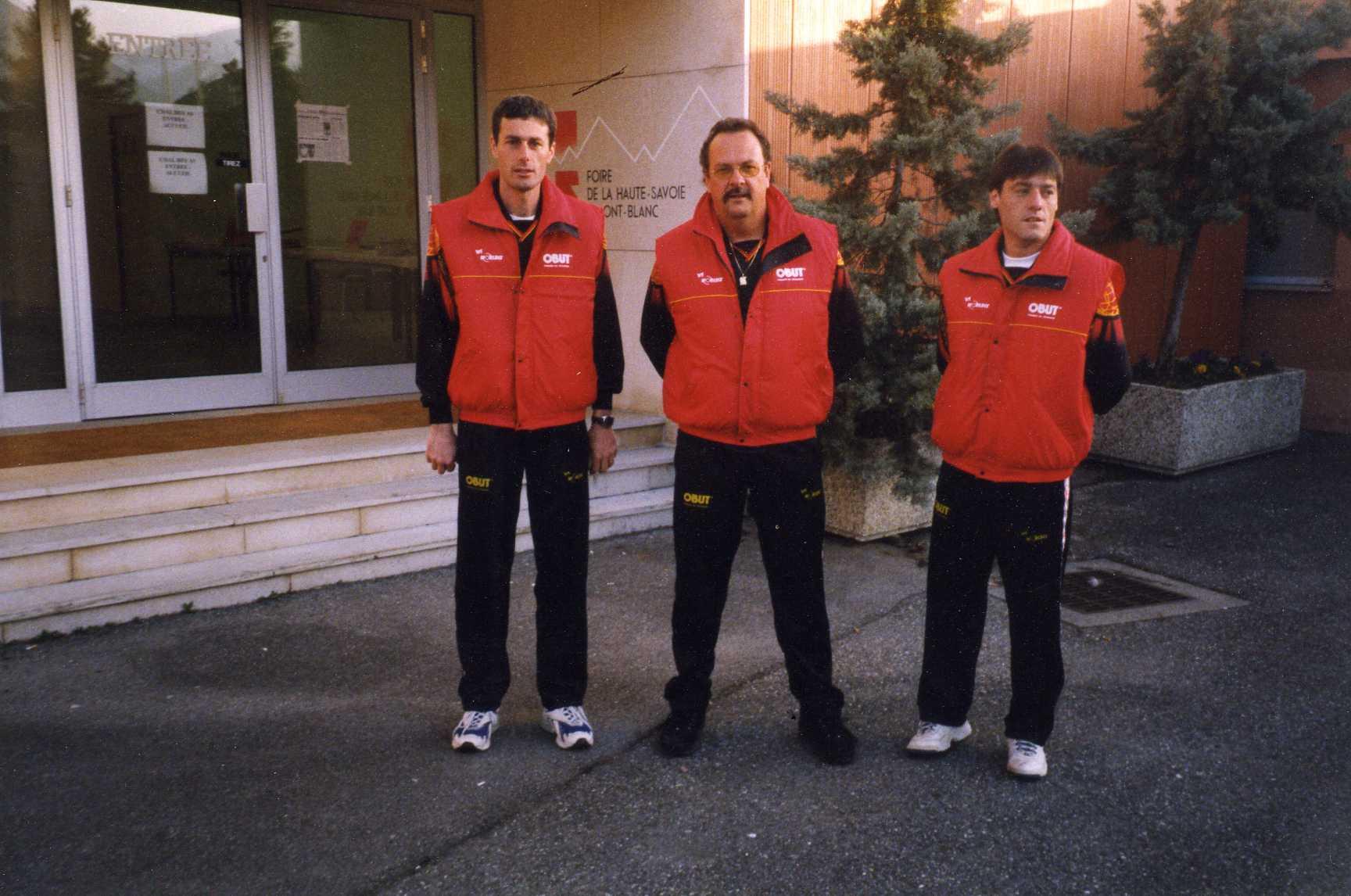 1999 juste avant de se rendre au boulodrome de la ROCHE SUR FORON