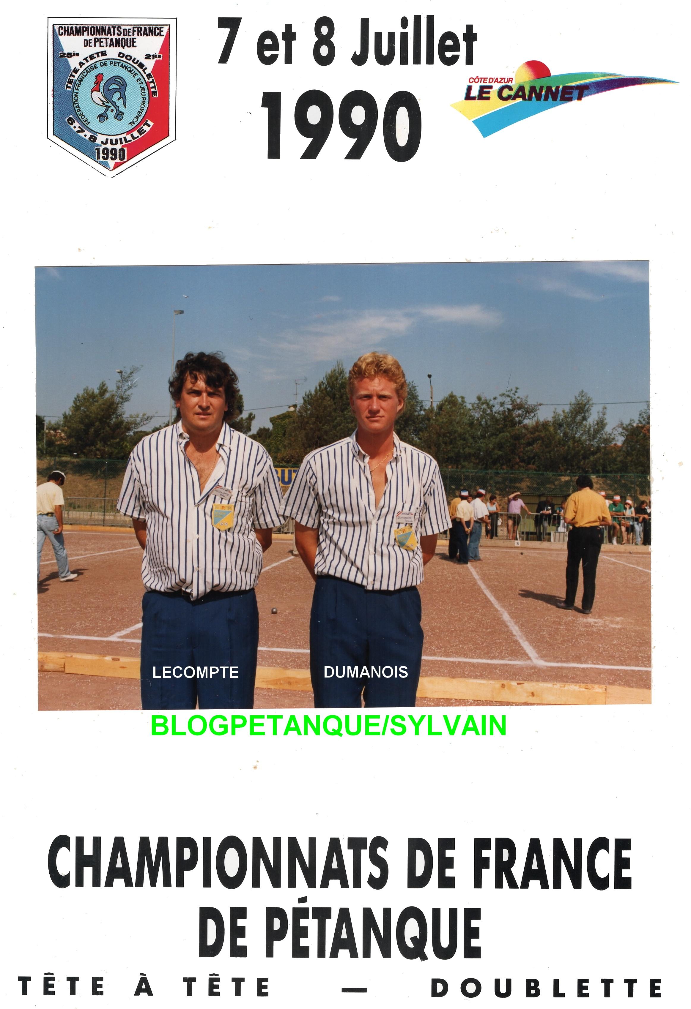 Les demi-finalistes doublettes du 06