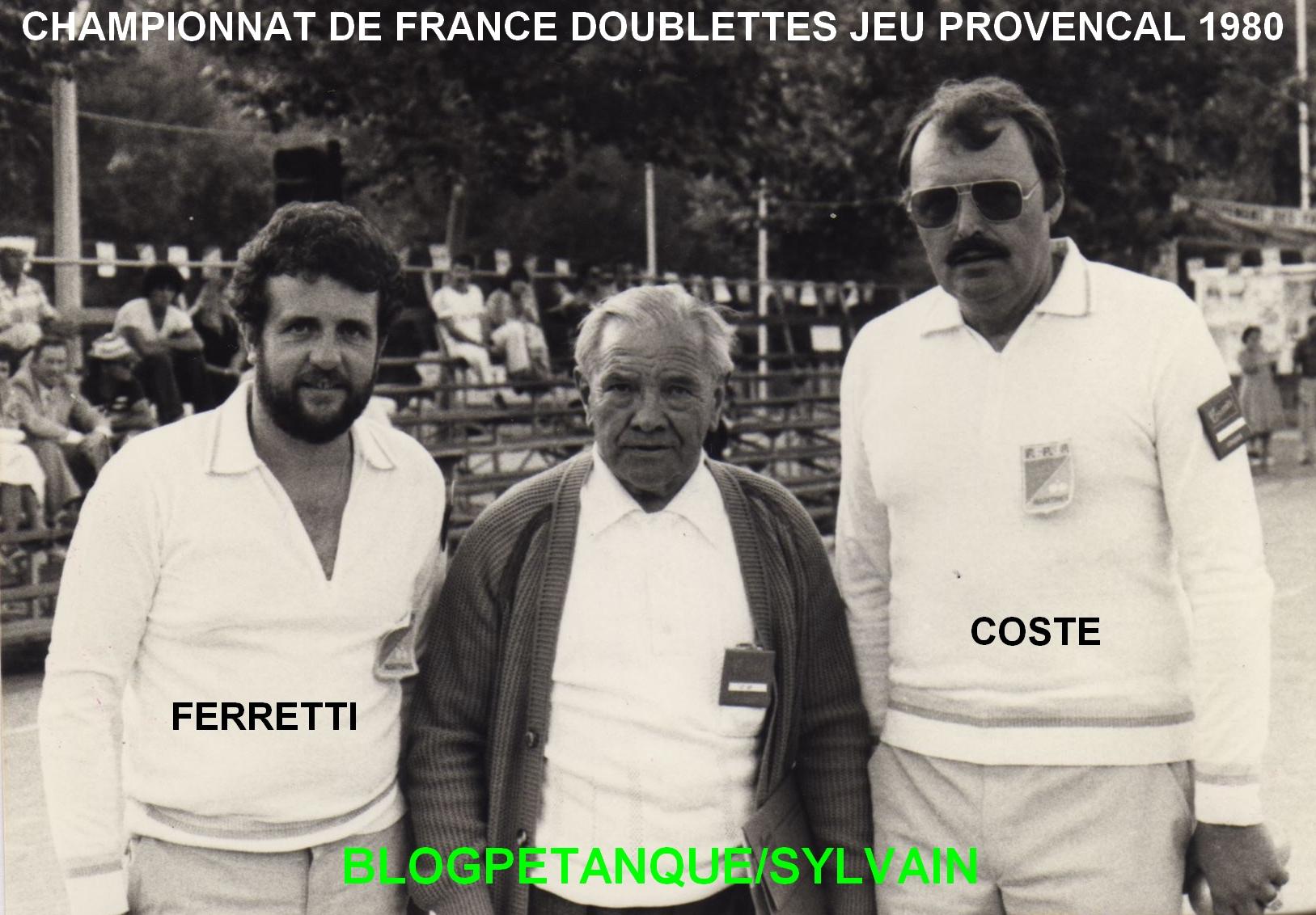 L'année 1980 au Jeu Provençal
