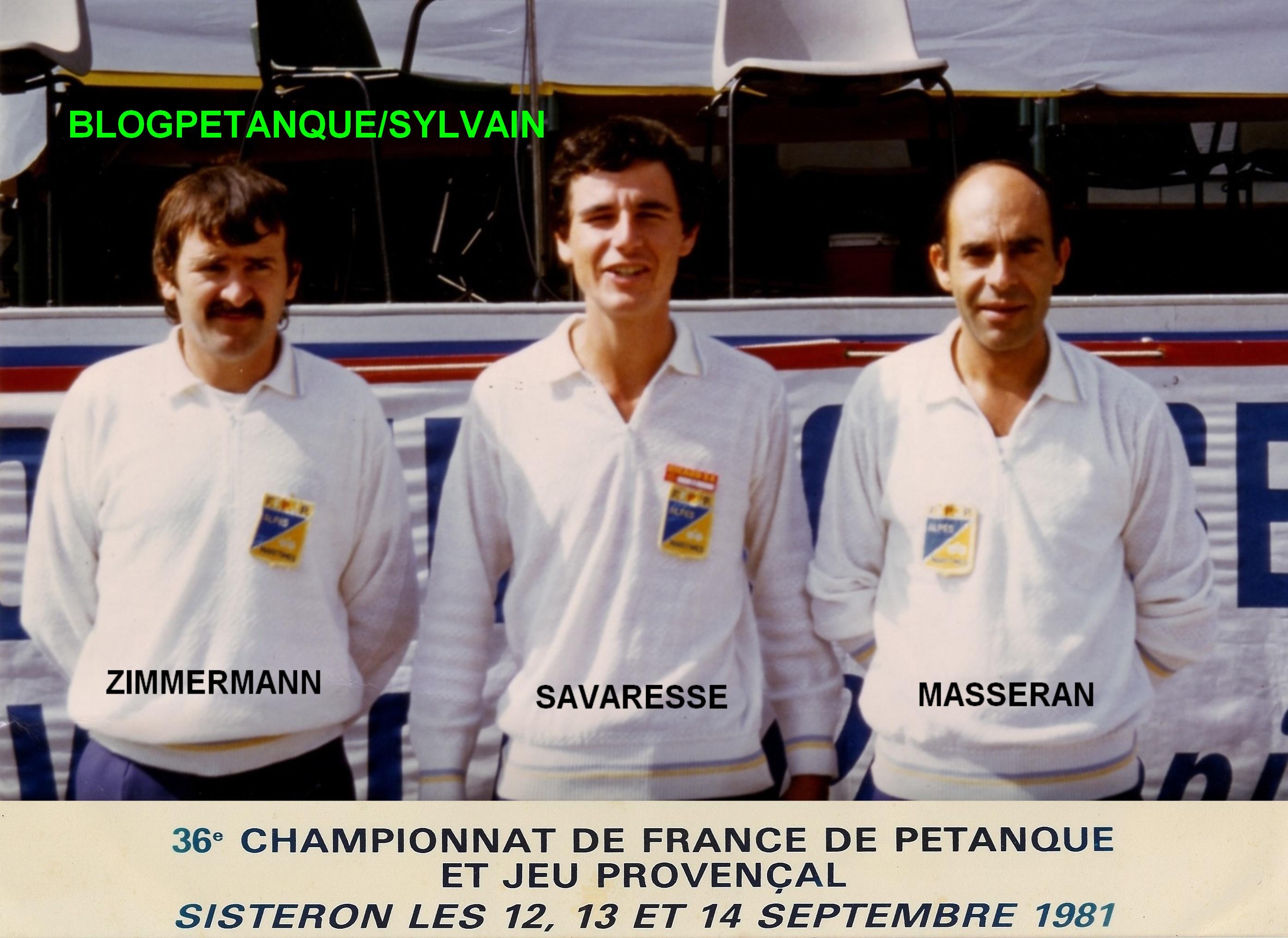 L'année 1981 au Jeu Provençal