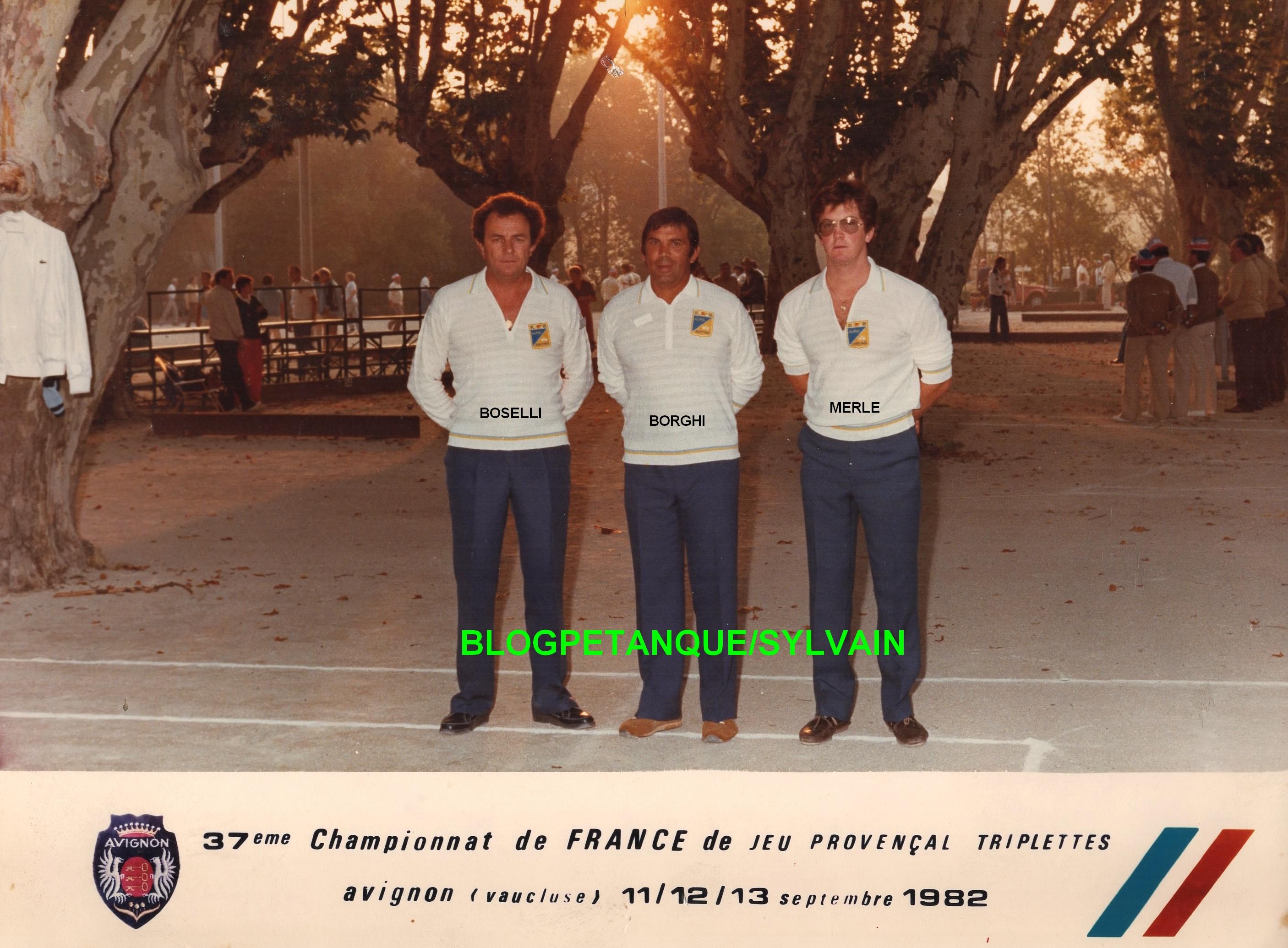 L'année 1982 au Jeu Provençal