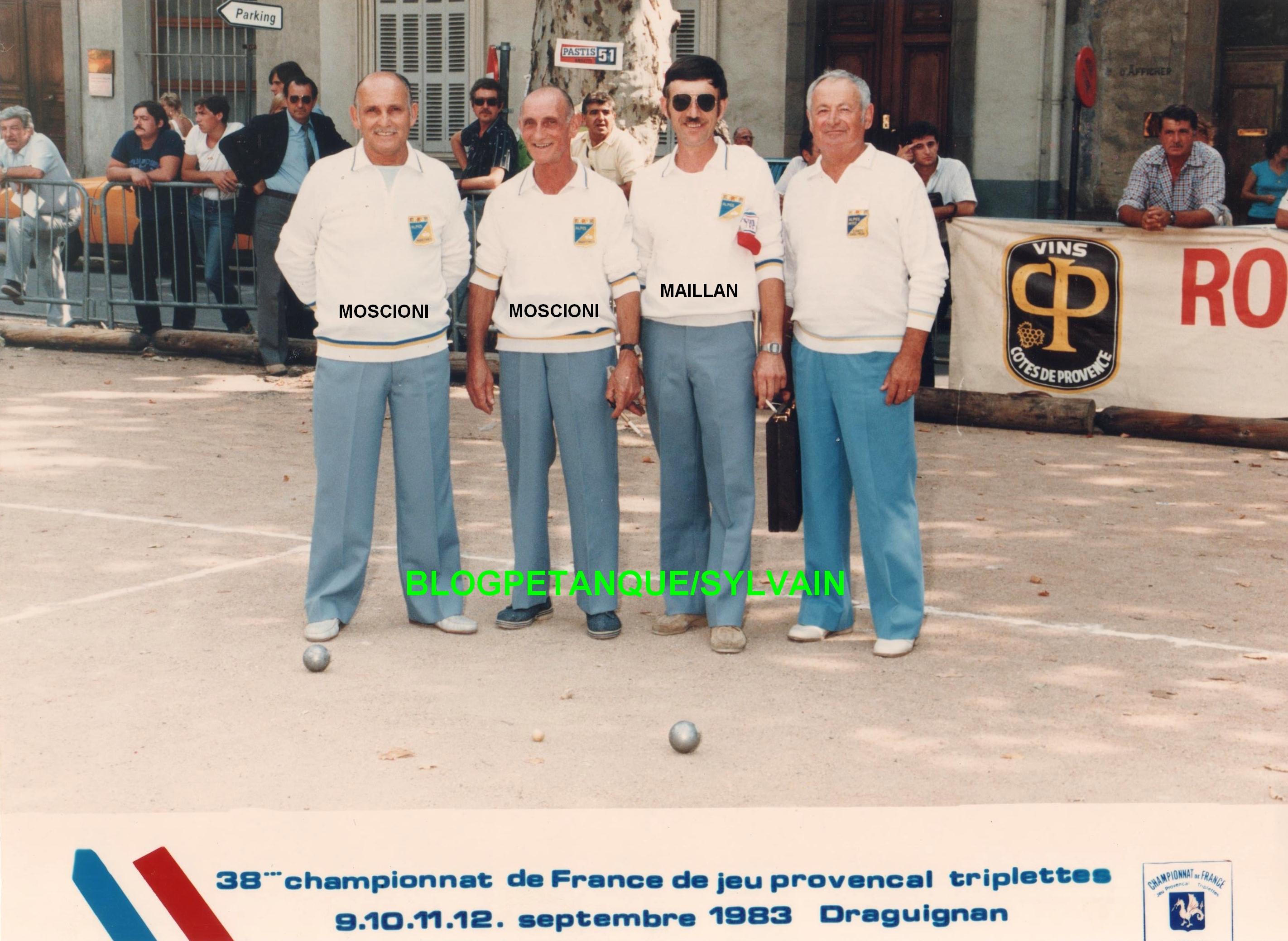 L'année 1983 au Jeu Provençal