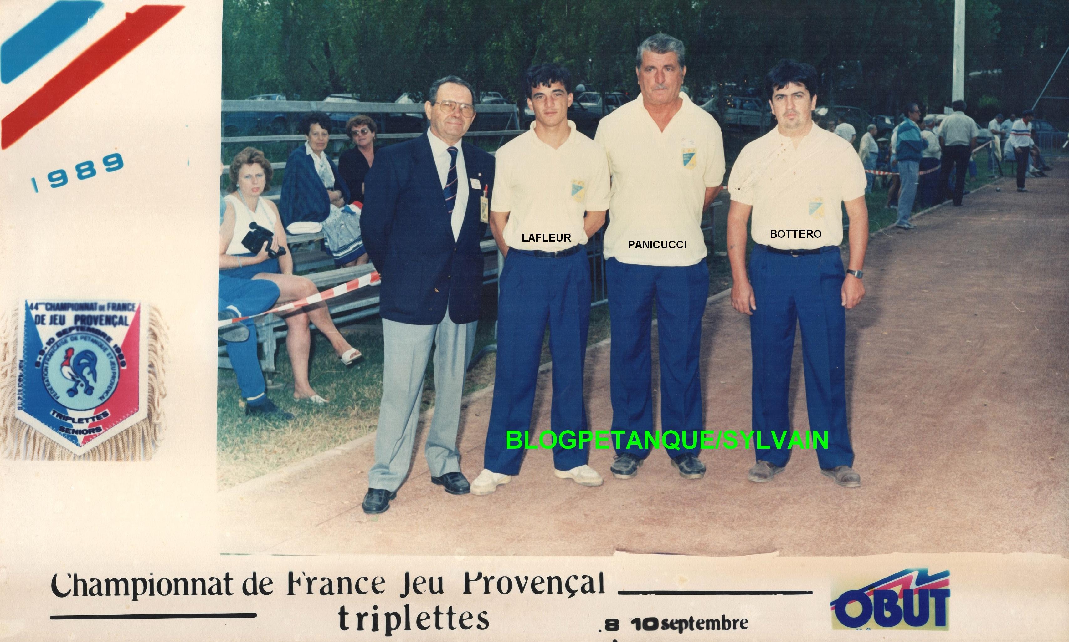 L'année 1989 au Jeu Provençal