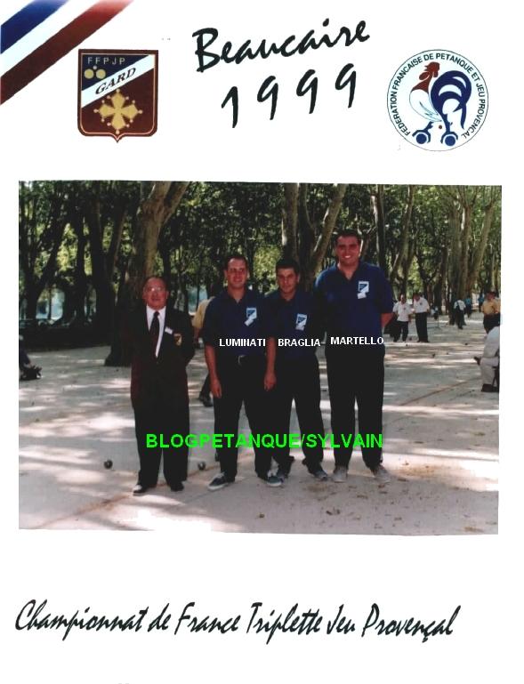 L'année 1999 au Jeu Provençal