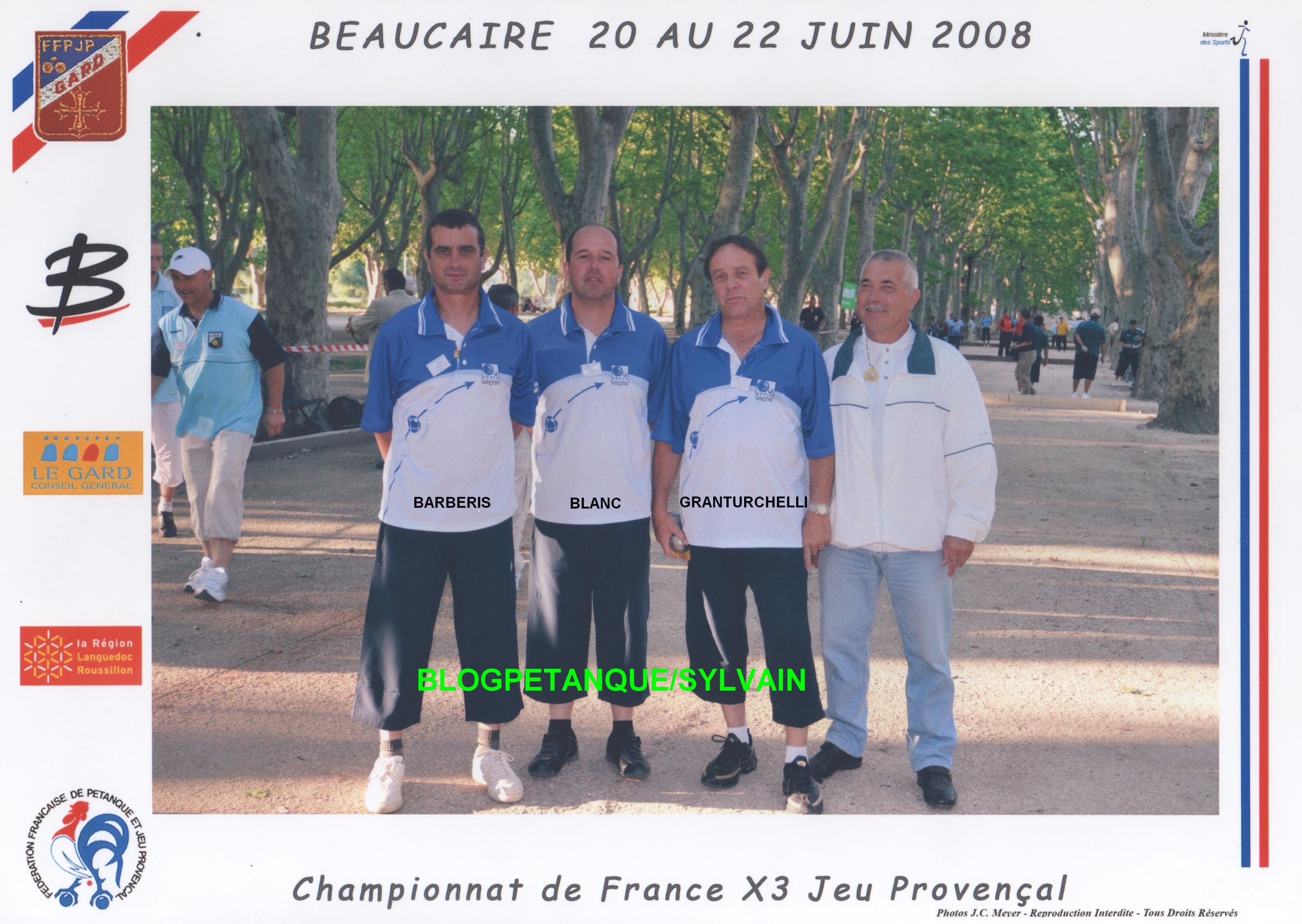 L'année 2008 au Jeu Provençal