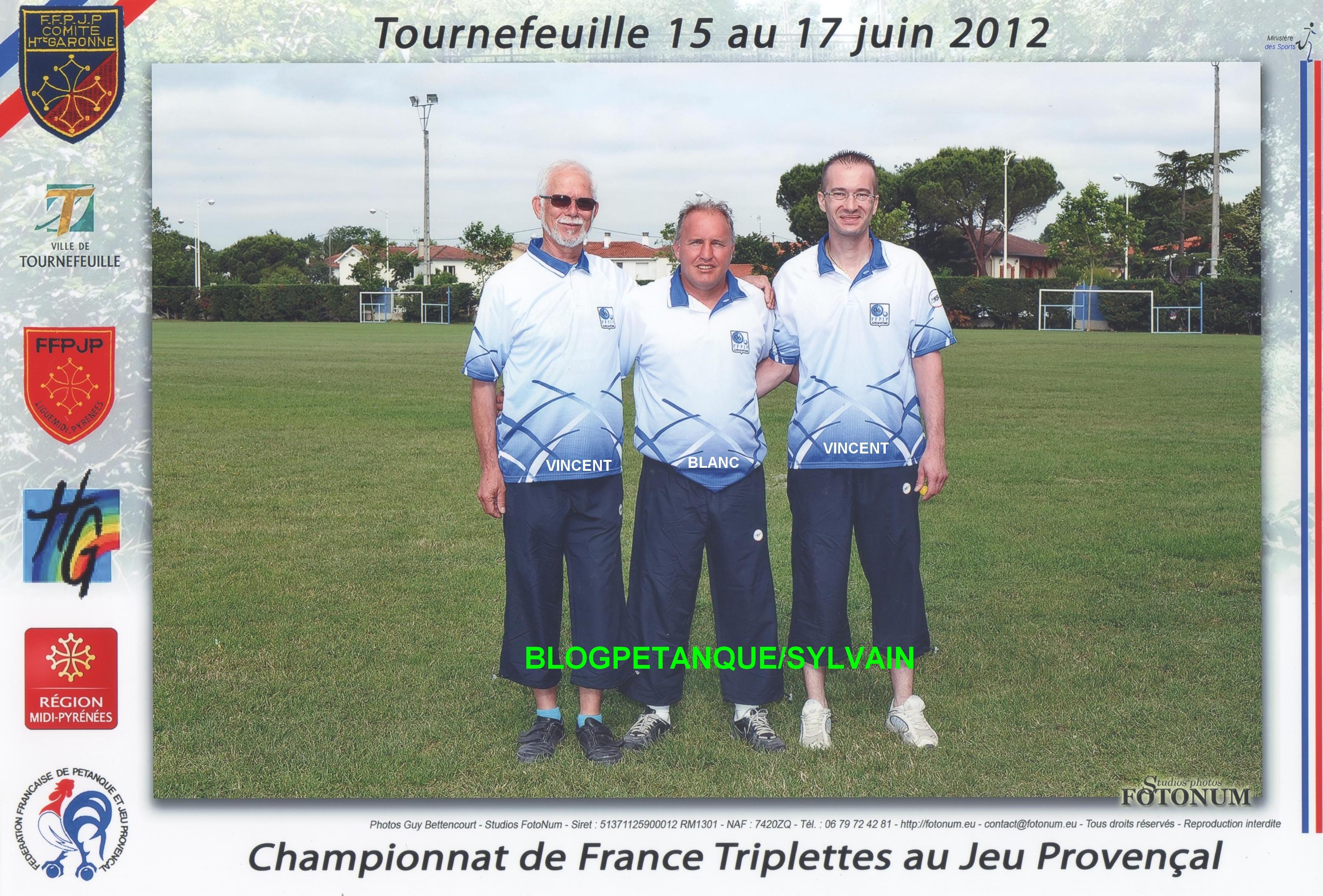 L'année 2012 au Jeu Provençal