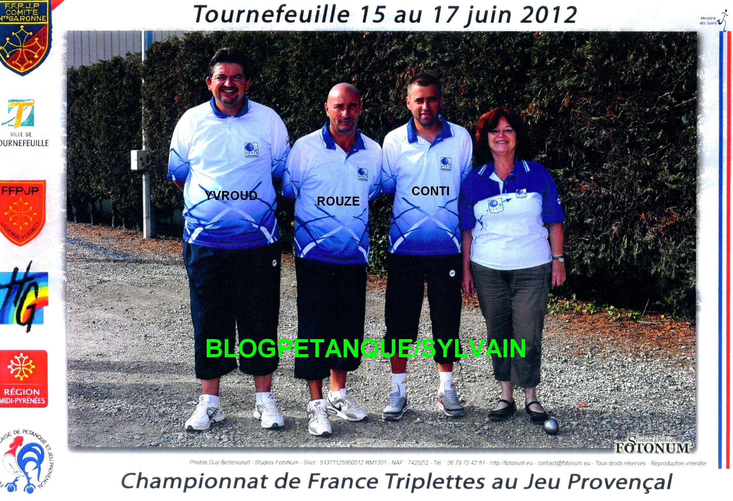 Les vices champions de France 2011 qualifiés d'office