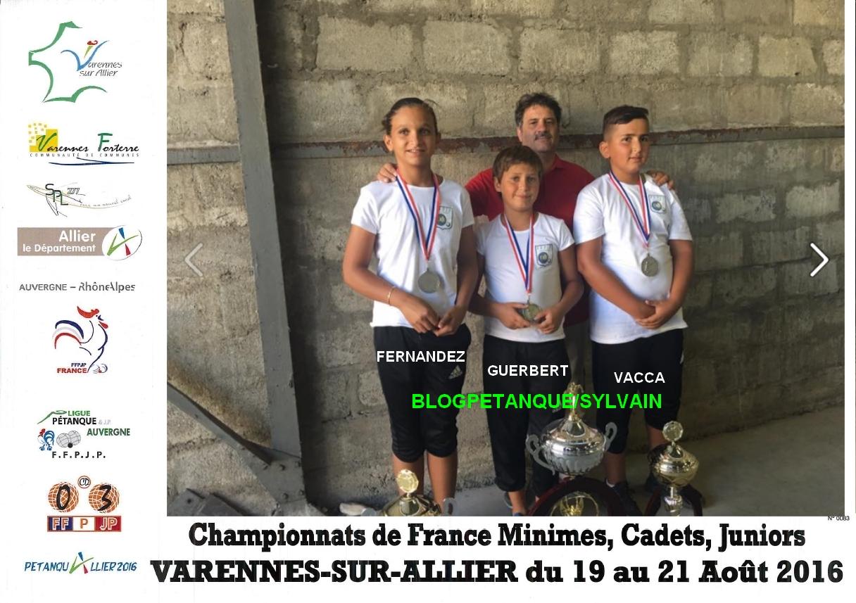 Les vices champions minimes et vices champions de ligue du 06