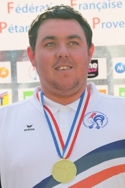 PHILIPSON Kévin champion de FRANCE 2010