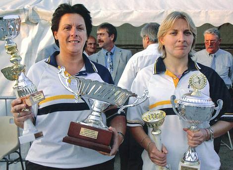 vainqueurs de Amiens 2009 avec Emilie Taisne