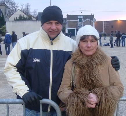 Mr et mme TECH SPORT ne sont pas sur la route du patois mais ils étaient de passage au national de CORBEIL