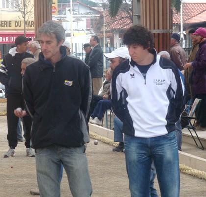 Bonnet Sylvain et Gasparini Matthieu à CANNES 2010