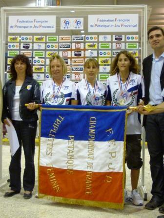 Les championnes de France 2010
