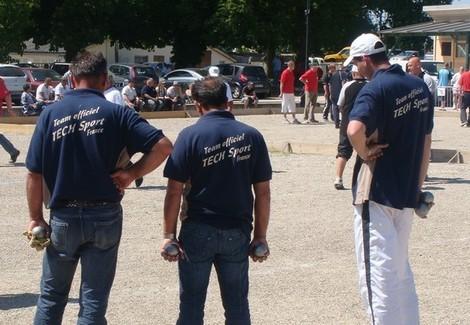 Joueurs et joueuses du Team officiel TECH SPORT 2011