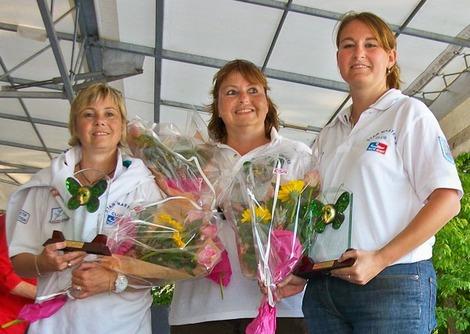 Championnat triplette féminin du CD 77