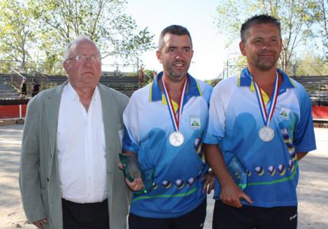 Ch. de France doublette Jeu Provençal 2012