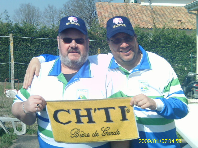 GUYTOU et PATOU champions chez les ch'tis mdr