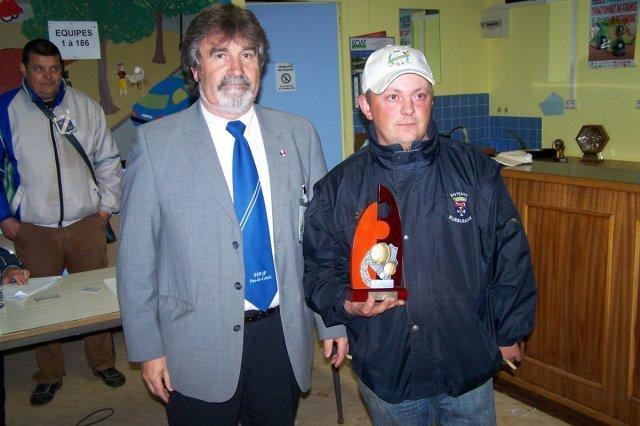 champion T à T du Pas de Calais Jean Claude Dilly