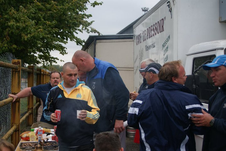 Barbecue lors du national de Parthenay