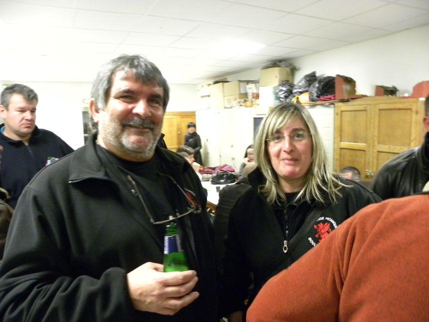 des supporters de Metz ,tres sympas