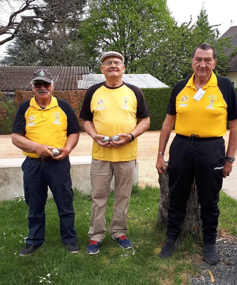 Championnat d'Allier Triplette Vétérans