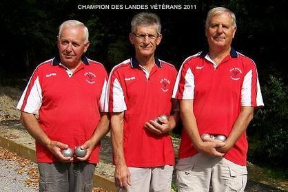CHAMPIONNAT DES LANDES 2011