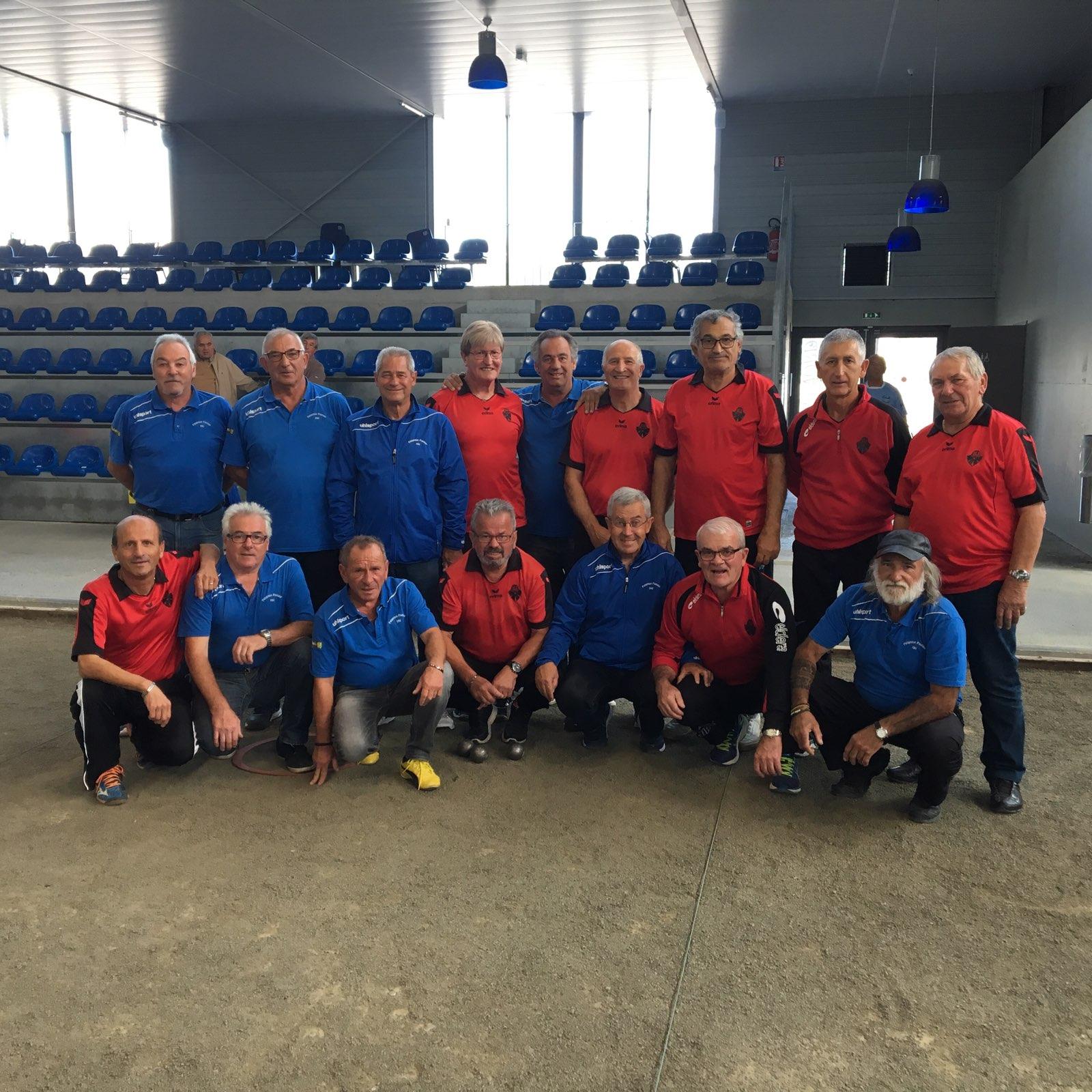 Championnat des clubs vétérans catégorie régional