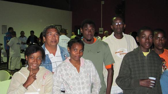 La délégation de Mayotte au Blue Bayou