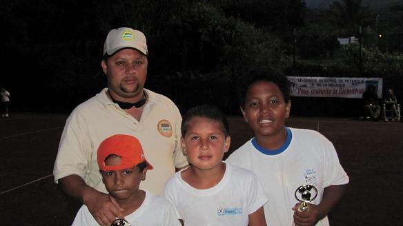 Aymeric Caro/Maël Grondin/Rooly Randriana vainqueurs de la Coupe de la Réunion