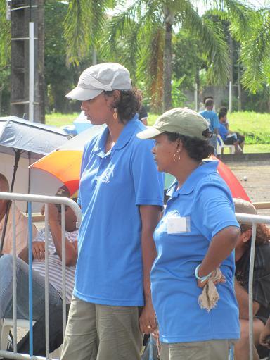 Aline Vellin/Augustine Canaguy championnes de la Réunion