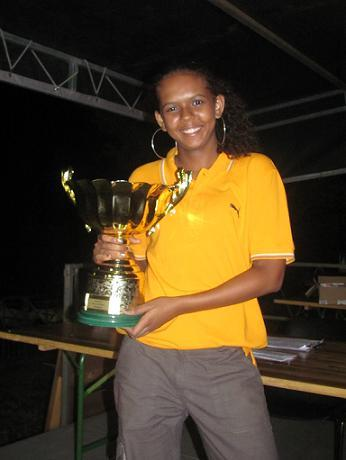 Romy Ibao championne tête à tête chez les dames