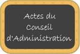 P.V. Réunions C.A. et Bureau
