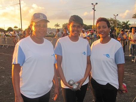 Rosina Sandra/Romy Ibao/Sonia Ibao (ABLL) les gagnantes 2015