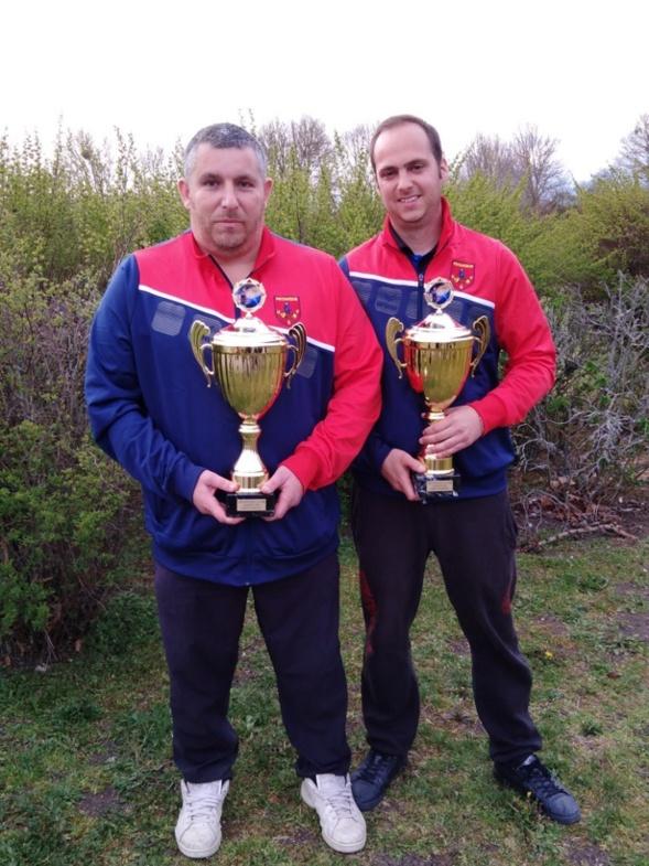 Sébastien RECEVEUR et Alexandre JACQUET Champion doublettes 2019