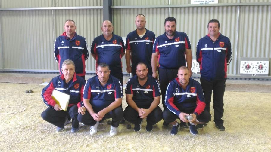 USF Pétanque saison 2017 CNC1 G/B