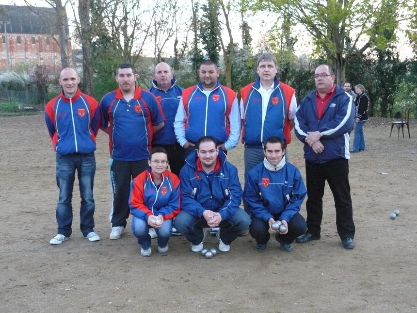 Deuxième tour de coupe de france 2011
