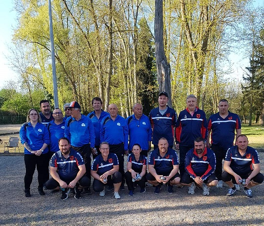 Coupe de France 2019 : Orval contre USF Pétanque .